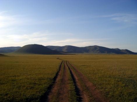 Mongolian landscape picture