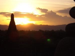 Sightseeing Bagan