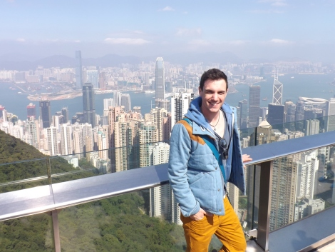 Hong Kong Peak Tourist