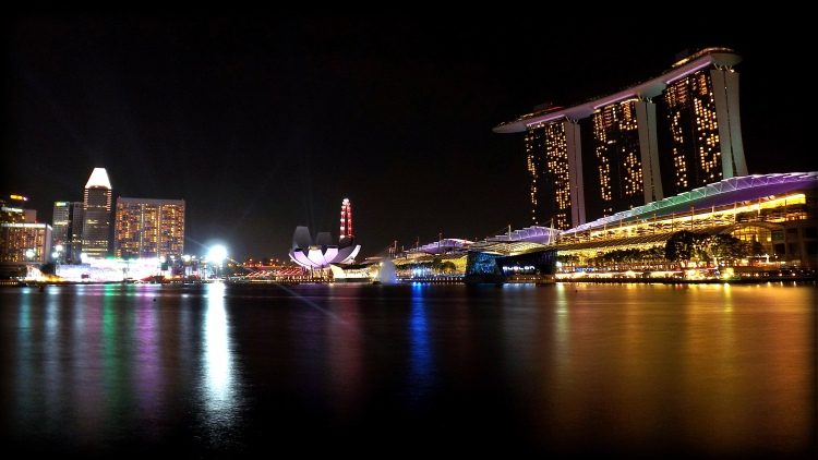 Singapore light show