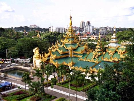 Sightseeing Rangoon