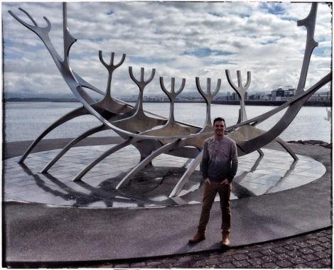 """The Sun Voyager represents """"the promise of undiscovered territory, a dream of hope, progress and freedom"""""""