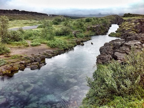 Iceland's landscape really helped me pin down the setting of the novel I've been wanting to write for years.