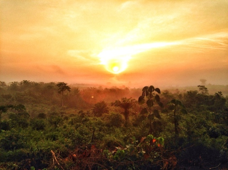 Liberia Sunset