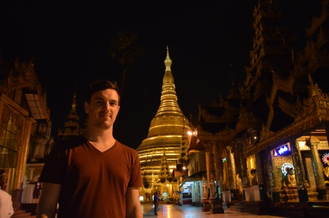 Tourist yangon nightlife